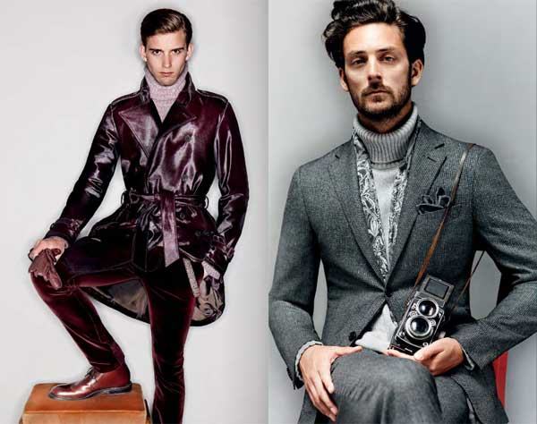 Canali Autumn Winter 2012 2013 collection 5
