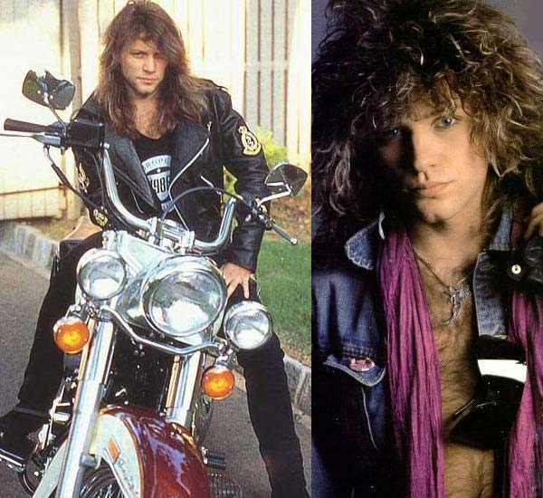 4ba979c96 Jon Bon Jovi - The Rock Star Icon Of Leather - Men Style Fashion