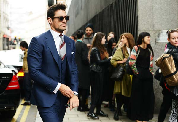 Davdi Gandy - London Collections Men Blue Suits For men