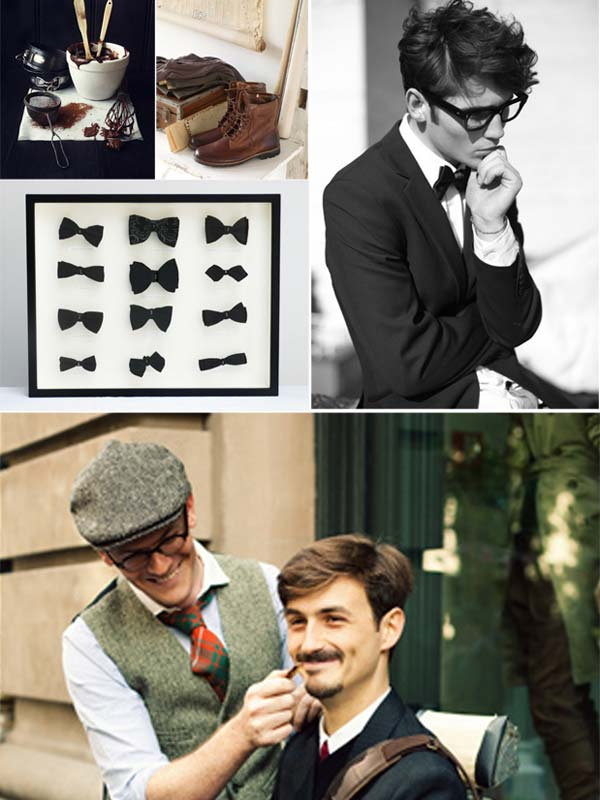 Bow tie for men summer 2012