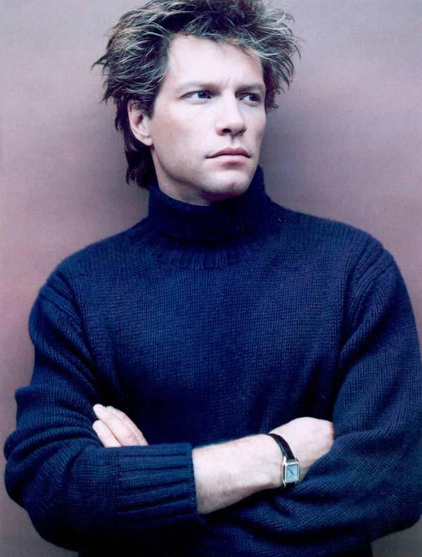 jon-bon-jovi,blue polo sweater