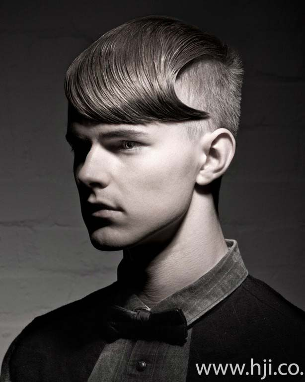 Men Hairstyles 2012 Slick Look