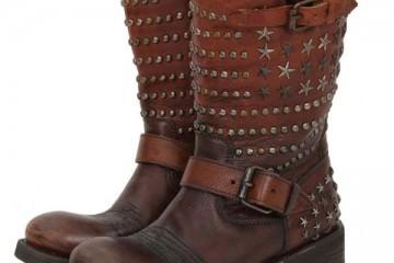 ASH - Tennessee Biker Boot Brown