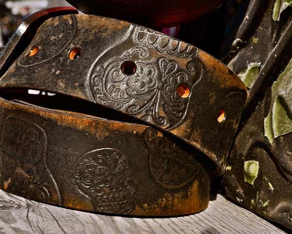 sugar-skull-belt,-brown