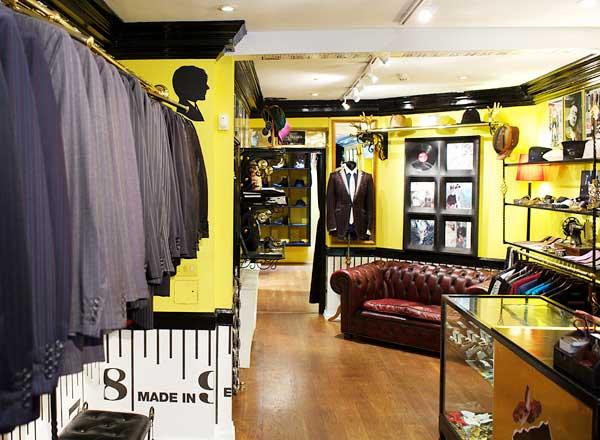 6c94eaaf82a34 Sir Tom Baker – Cool Bespoke Tailoring In Soho London. Gracie Opulanza. 9th  July 2012. News. tom baker shop