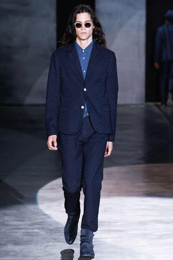 Iceberg mens blue suits 2013