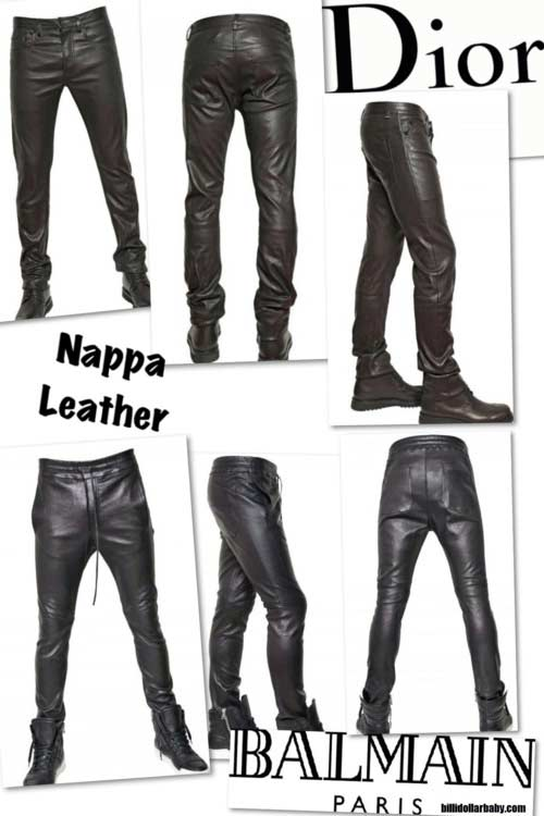 e323661247bf2 Men s Leather Trousers - Do Men Look Good In Leather Trousers  - Men ...