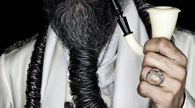 Winner of the beard competition 2012