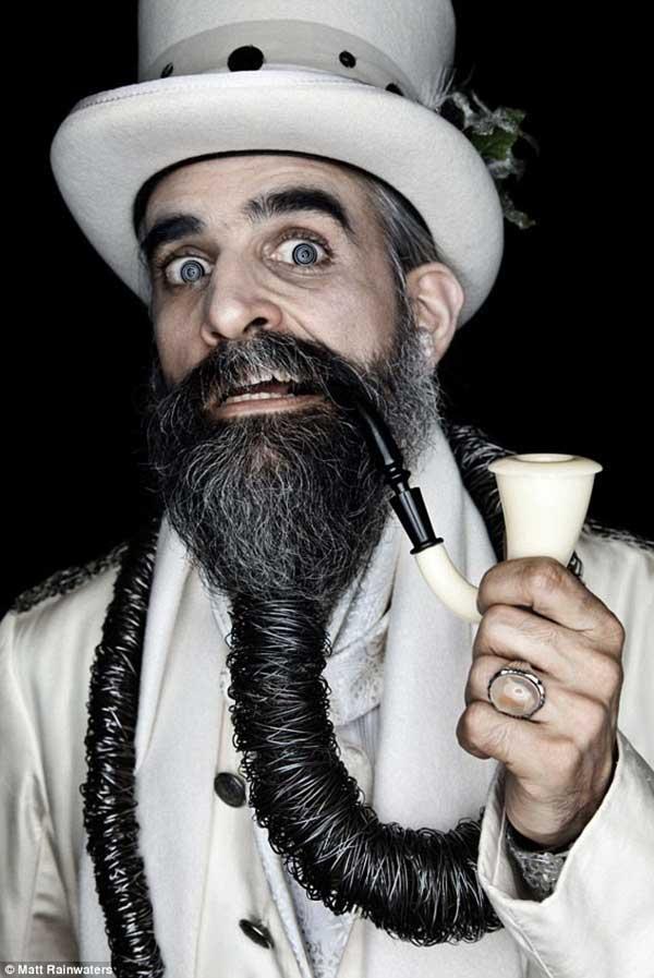 Beard competition winner