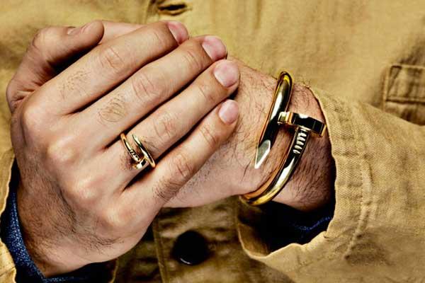 honeyee cartier 2012 - man wearing a bracelet