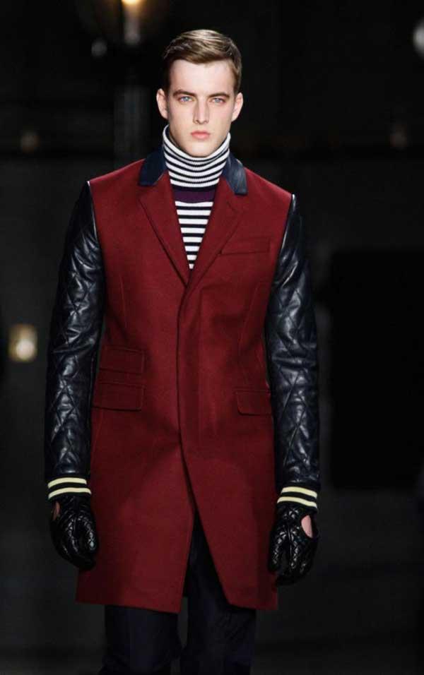 Tommy Hilfiger - Burgundy military jacket