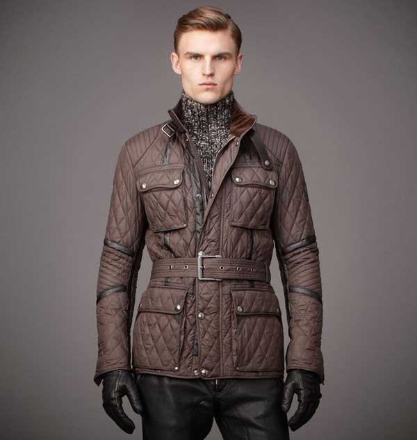 belstaff overcoat winter