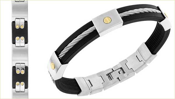 bracelets for men - silver