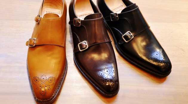 double monks monk strap shoes for men