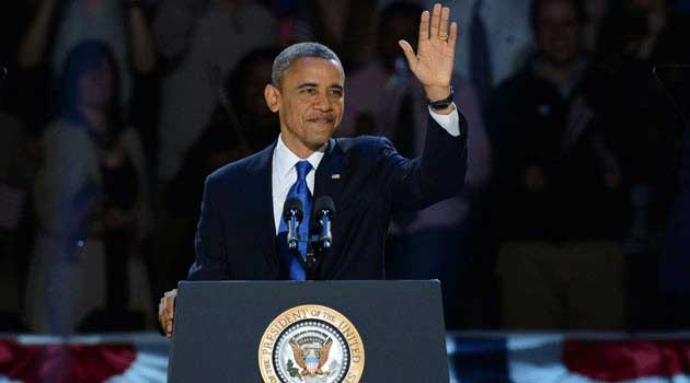 Obama Winning The Election For 2012