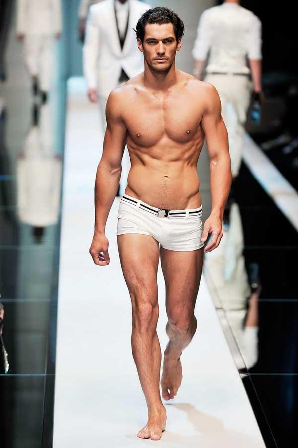 David Gandy modelling for Dolce & Gabbana