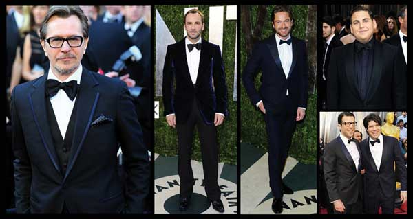 Celebrities wearing Tom Ford Dinner Suits