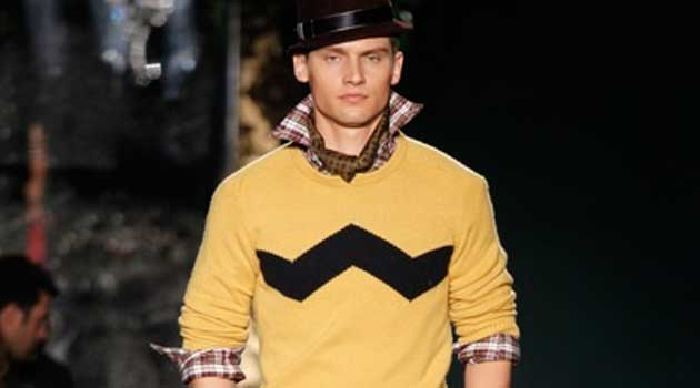 christmas jumper 2012 for men - yellow
