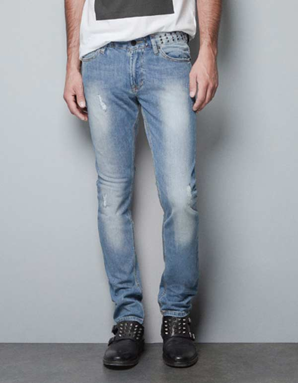 Zara men - Studded jeans