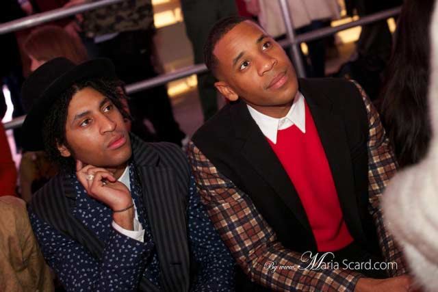 Cobbie and Reggie yates - London Collections: Men