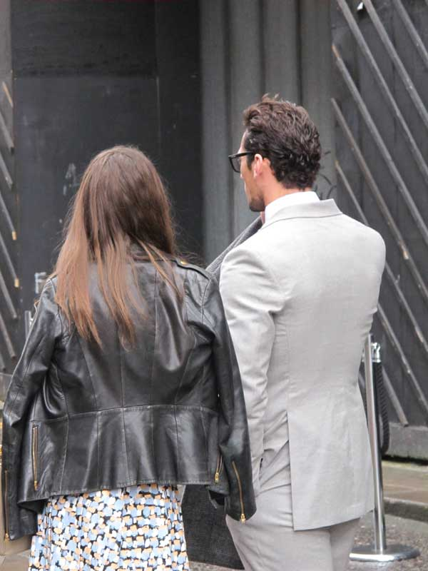 David Gandy - London Collections Men 2013 - 4