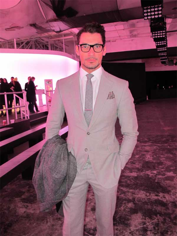 David Gandy - London Collections Men - 2013 - 5