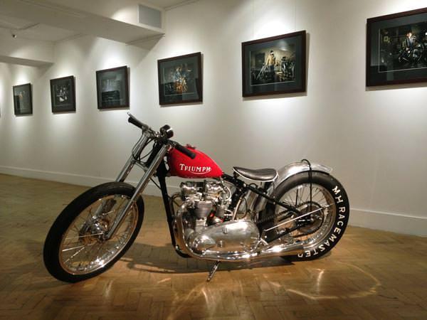 Natural Habits, by sam christmas, motorbike photography