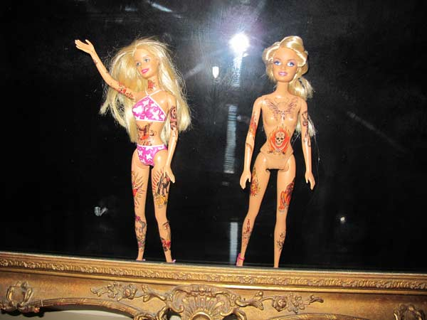 Tattoo London The Circle Barbie