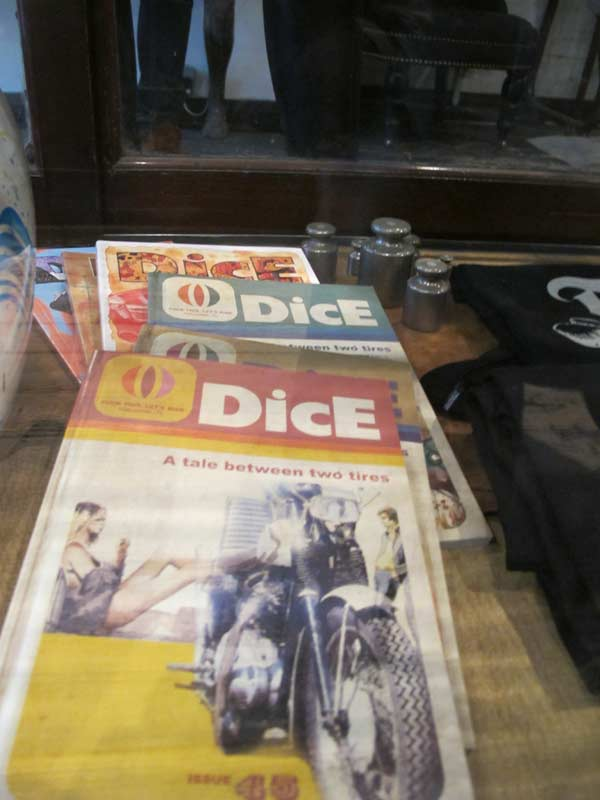 The Great Frog, Dice magazines