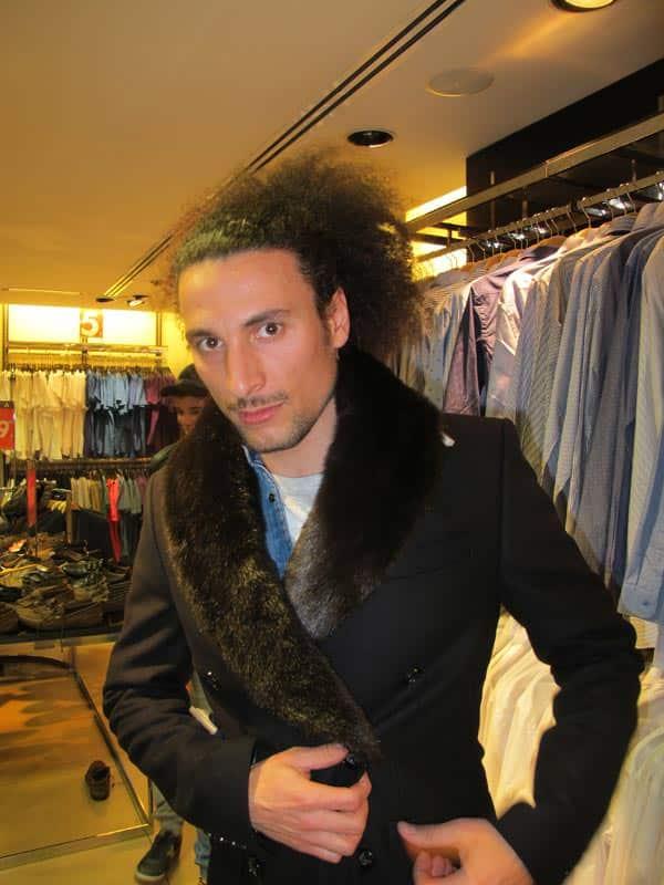 Fur Coats For Men How To Wear A Fur Coat Men Style Fashion