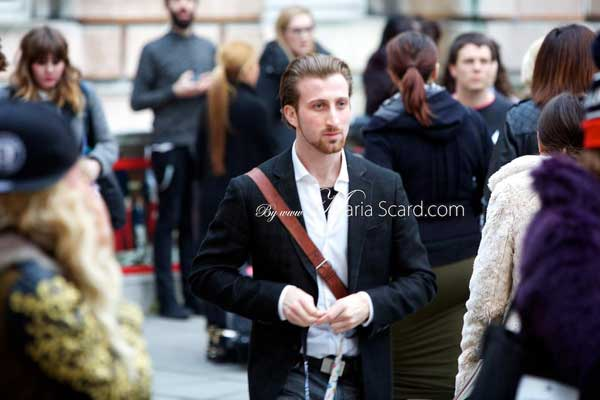 London Fashion Week - What the men wore