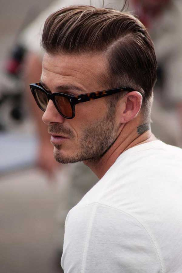 David Beckham - Hairstyles the quiff