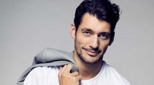 David Gandy - Natural Hair