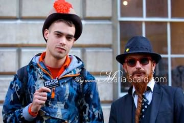 London Fashion Week - Hats for men 2013