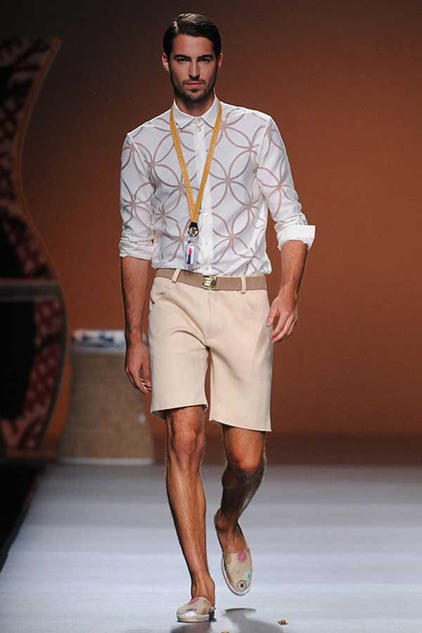 Ion Fiz - Antonio Navas flower shirts for men