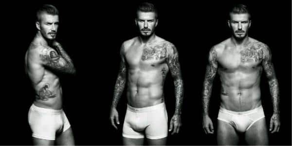 David Beckham - H&M underwear