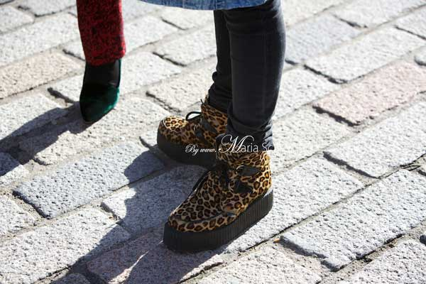 Trainers for men - Leopard skins