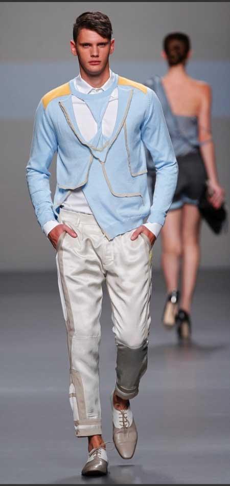 Ion Fiz -  blue cardigan for men