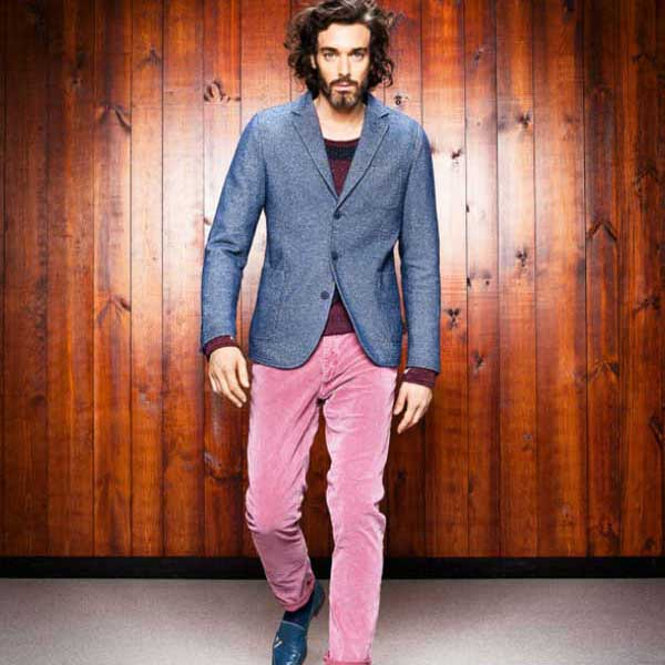 pink chinos for men 2013