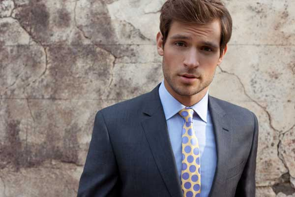 Polka Dots - ties for men 2013