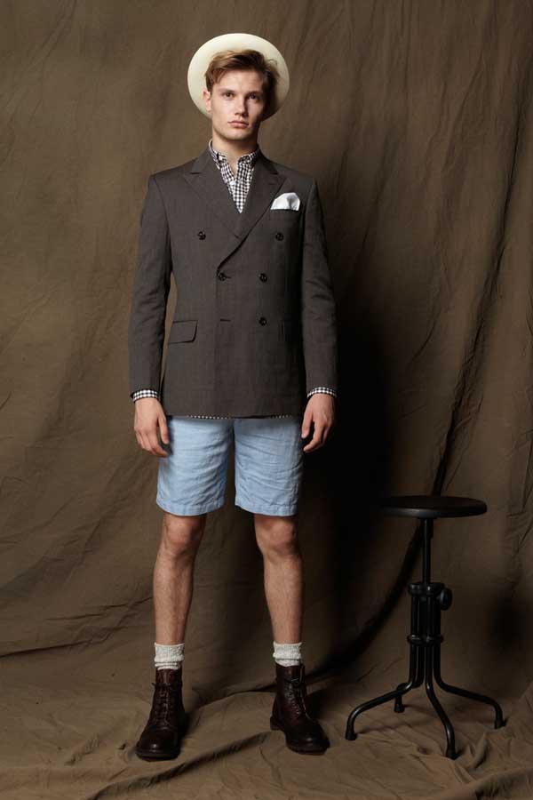 Shorts for men - blue denim summer 2013