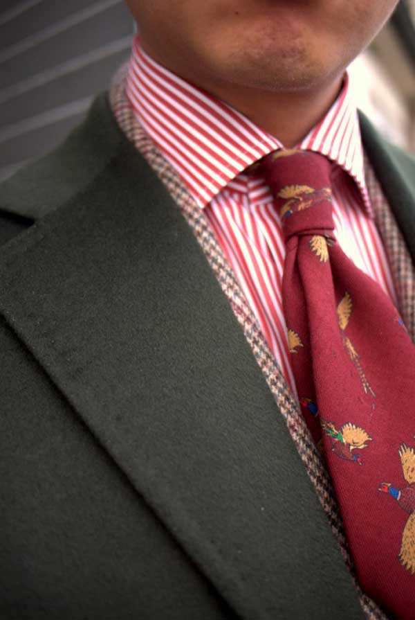 Cartoon style Tie