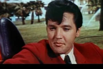 Elvis Presley - Speedracer red blazer