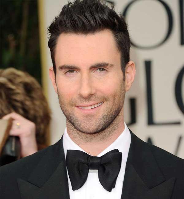 Adam Levine   Bedhead Look Hairstyle