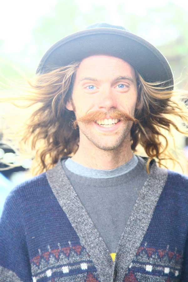 Long hair for men 2013