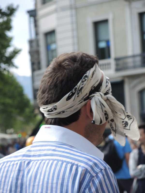 Head bans for men 2013