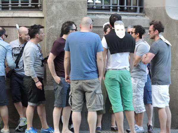 Men in Barcelona 2013