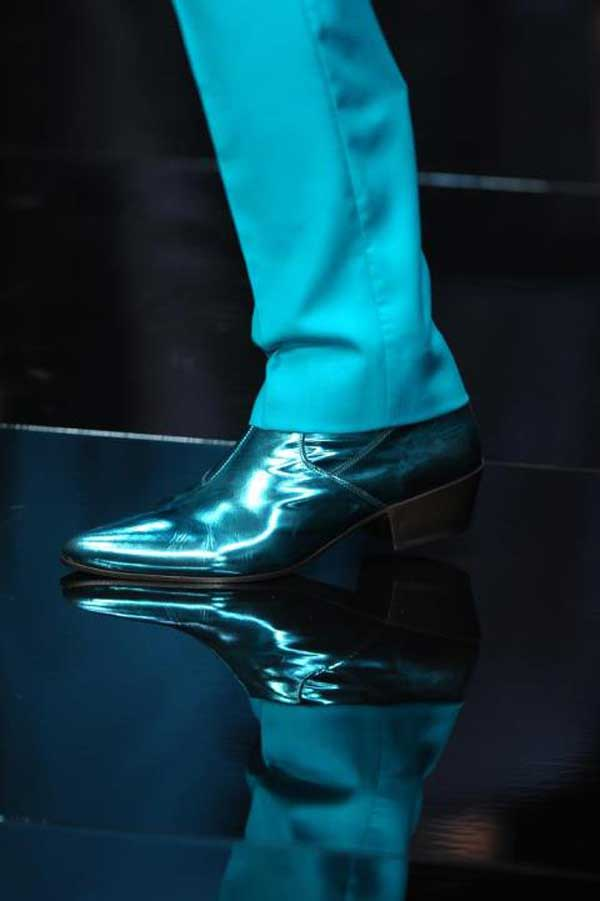 Roberto Cavalli - Blue boots for men 2013