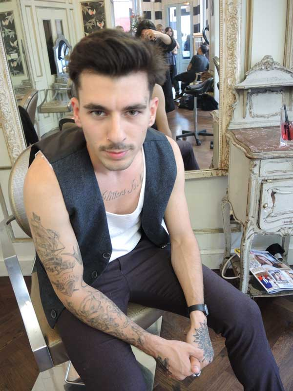 Hairstyle And Tattoo Take It Seriously Men Style Fashion