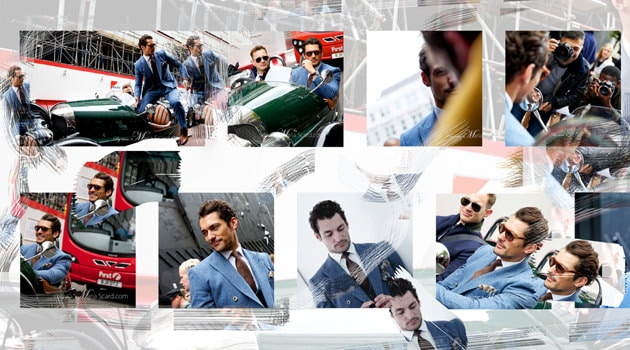 David Gandy - Reiss Three Peice Suit